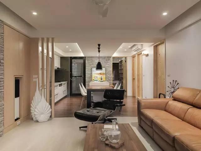 期待已久的房子终于装好了,99平装出了120平的效果
