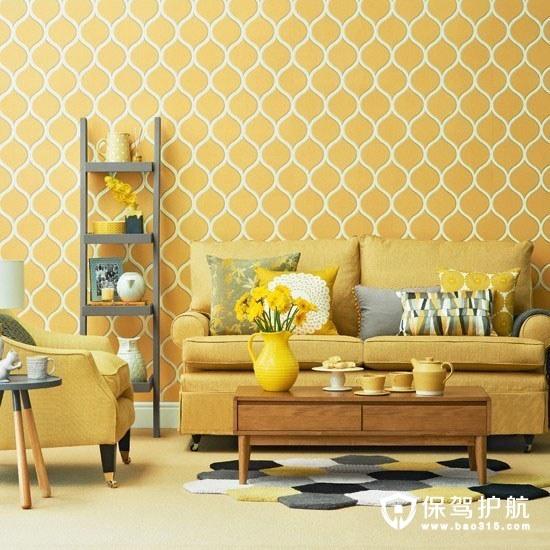 比如换上一套亮橙色的窗帘,给沙发加一只可爱的橙色小抱枕,整个家的