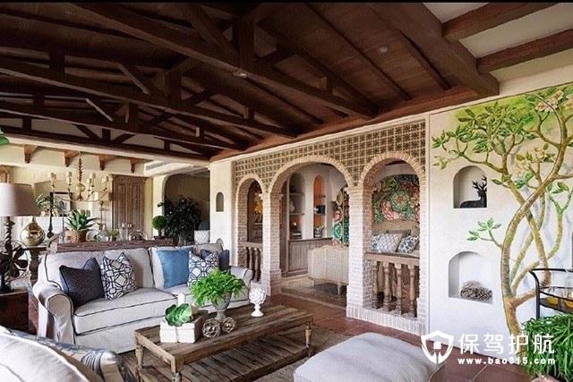 欧式风格感受西班牙城堡典雅