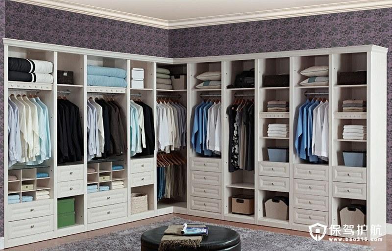 首页 装修攻略  房屋装修 卧室装修 风格各异的衣帽间装修效果图欣赏