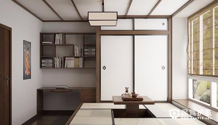 书房茶室一体房间装修设计效果图案例