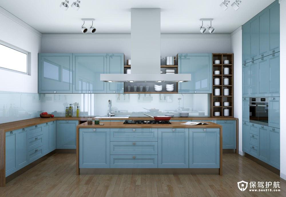 厨房装修图片大全欣赏(上):唯美岛台厨房