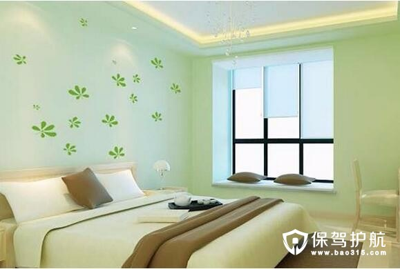 硅藻泥卧室背景墙装修效设计效果图实例赏析