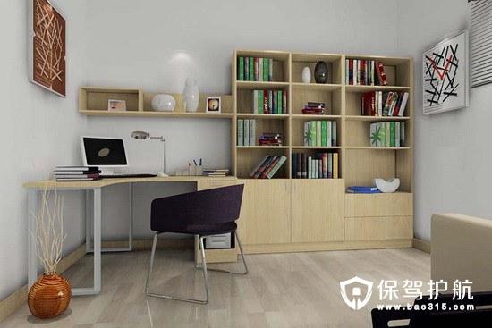 怎样设计小户型家居书房