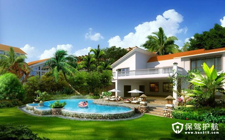 别墅庭院设计风格与注意事项