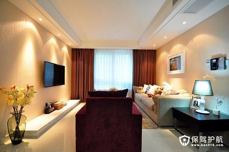 简约风格两居室装修案例 感受空间最大化