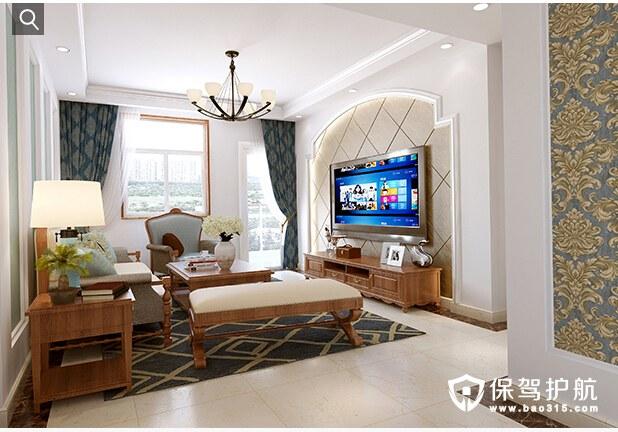 发挥空间最大值,打造完美115平米简约美式风格家居