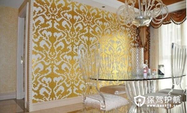 玻璃马赛克背景墙,时尚家居的新选择