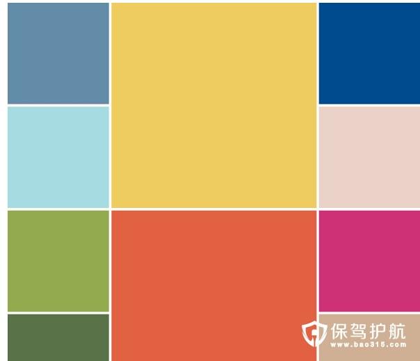 2017年春天十个代表色让家装充满春天的魅力