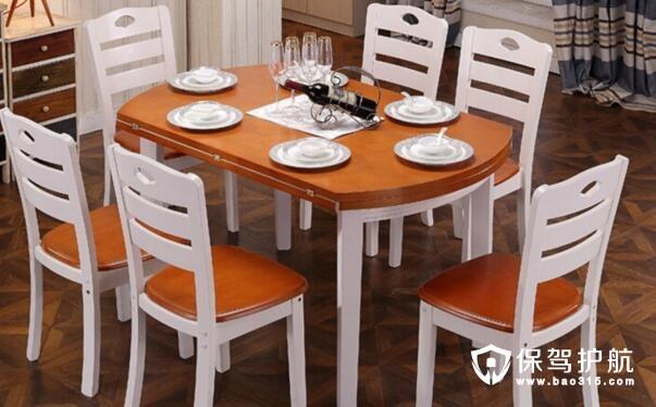 小户型终结者 伸缩餐桌对比折叠式餐桌
