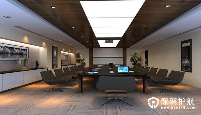 传统行业办公室装修设计