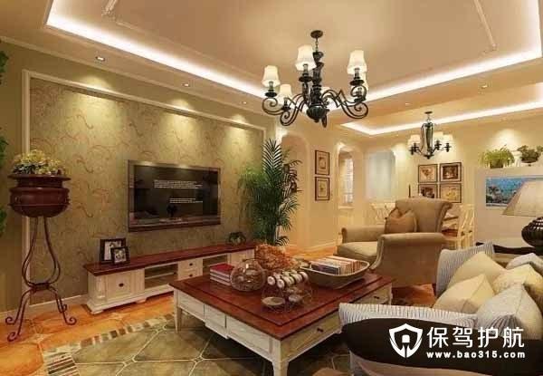 美式装修风格样板房 舒适高雅的居家氛围