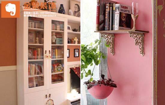 色彩书屋大保养 三步打造清新小书房