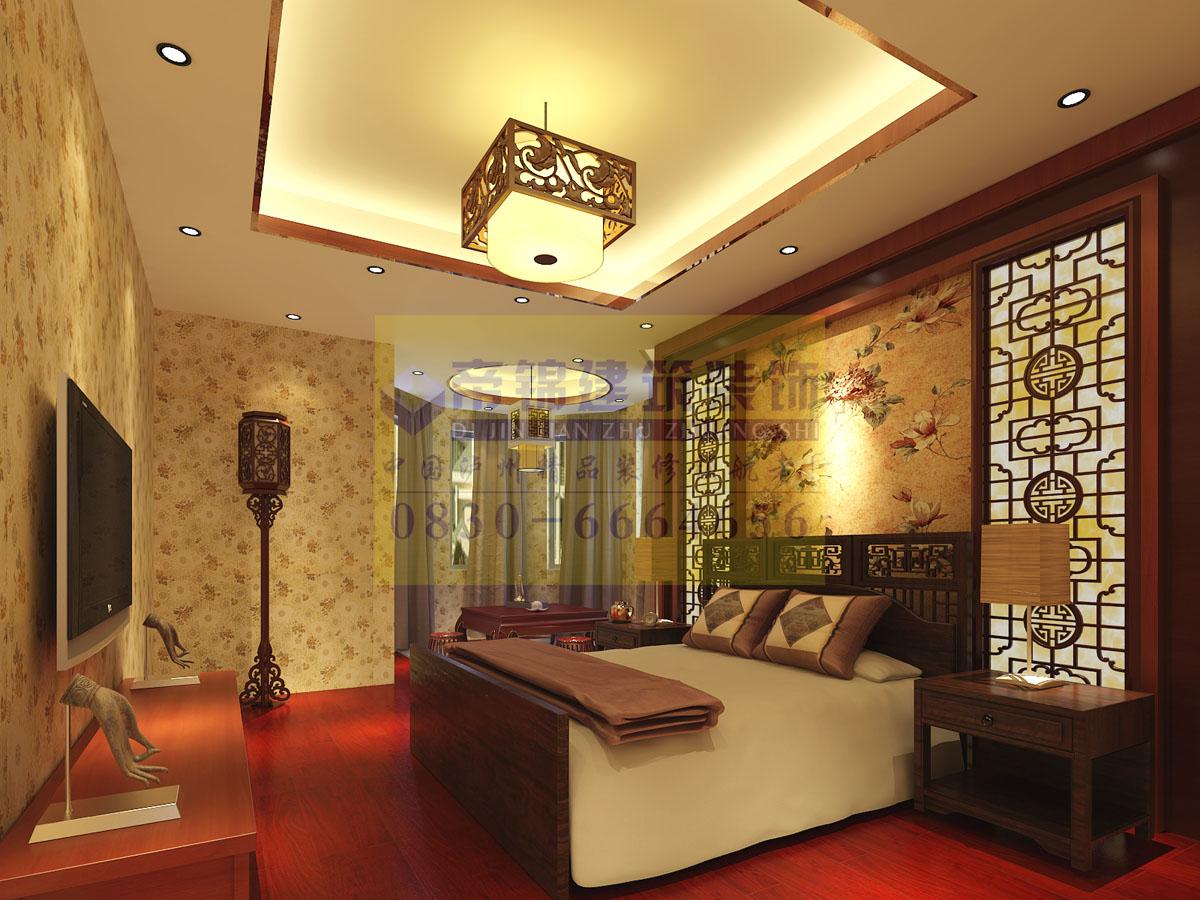 瑞丰公馆龙先生雅居古典中式设计方案