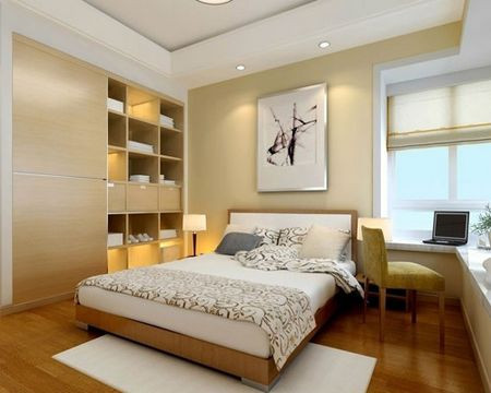 卧室装修的色彩与灯光