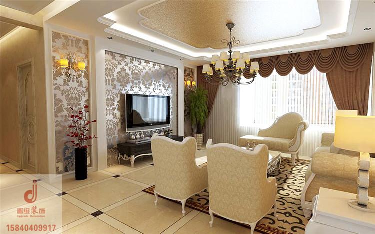 《晋级装饰》中海明珠166平效果图 简约欧式风格设计风尚