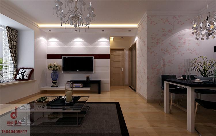 《晋级装饰》名流印象现代简约效果图 85两居室时尚风格设计