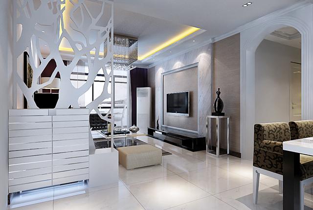 140平欧式平层大宅