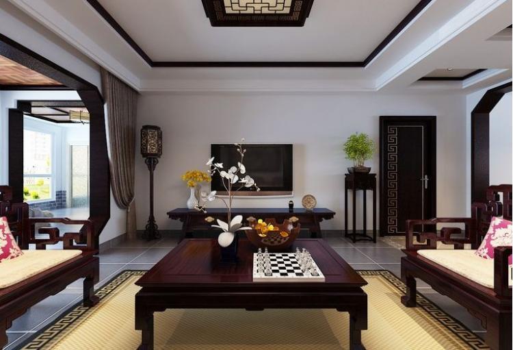 188平米中式风格四居室