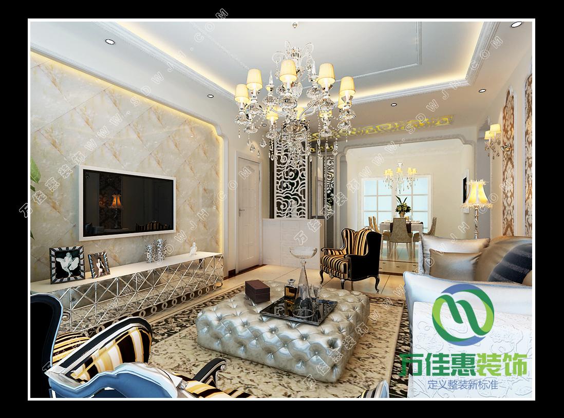 蓝天绿园 平层住宅 整装家装