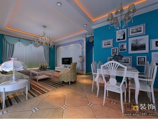 官渡区融城金阶120平方米地中海风格中户型10万元