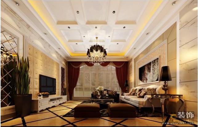 昆明市安宁太平镇400平方米简欧风格大户型联排别墅70万