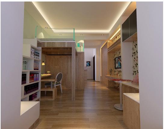 银杏金川32平米现代风格小户型造价5.6万