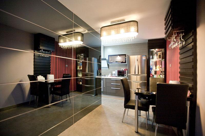 30平现代简约风小户型单身公寓餐厅装…
