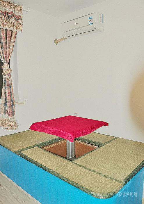 日式风格小户型公寓10平米卧室榻榻米效果图