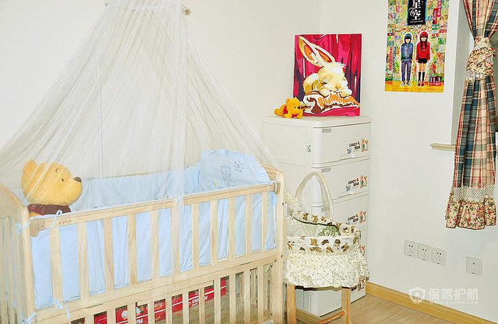 宜家风格两室一厅20平米儿童房装潢效果图