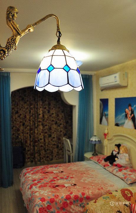 米兰风格三室一厅20平米卧室软装效果图