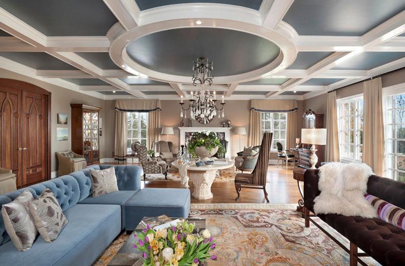 让身心放松  现代欧式风格客厅