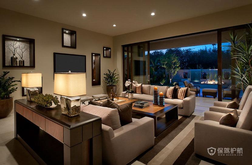 高端奢华 现代欧式风格客厅 ,欧式客厅,客厅沙发,客厅灯,客厅