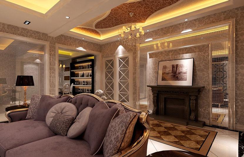 典雅華麗  現代歐式風格客廳 ,歐式客…