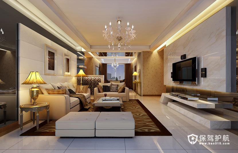 豪气  现代欧式风格客厅 ,欧式客厅,客厅沙发,客厅灯,客厅