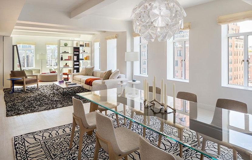 小空间大利用  宽敞富有色彩的一居室