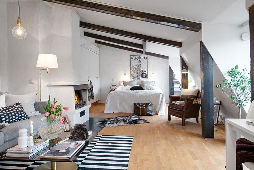 温馨可爱的阁楼公寓  家的温暖港湾
