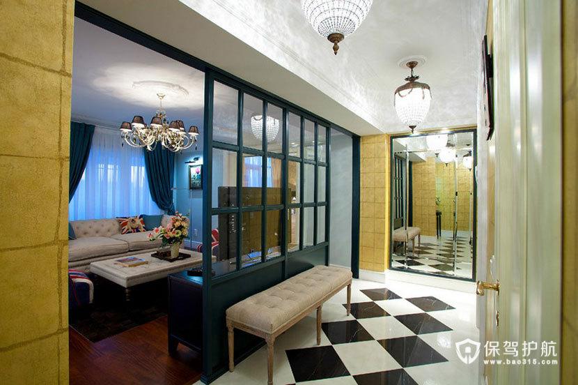 英伦风+艺术风来袭  100平米彰显皇室风范 ,英伦风格,民族风,一室一厅装修,100平米装修,艺术
