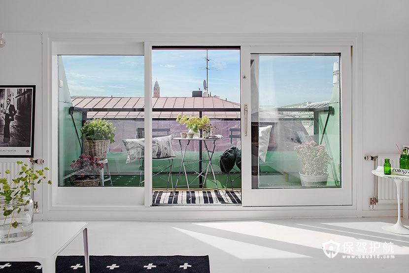 132平米顶楼复式房 开放式田园风格装修 小清新,简约风格,田园风格,小复式,复式装修,露台