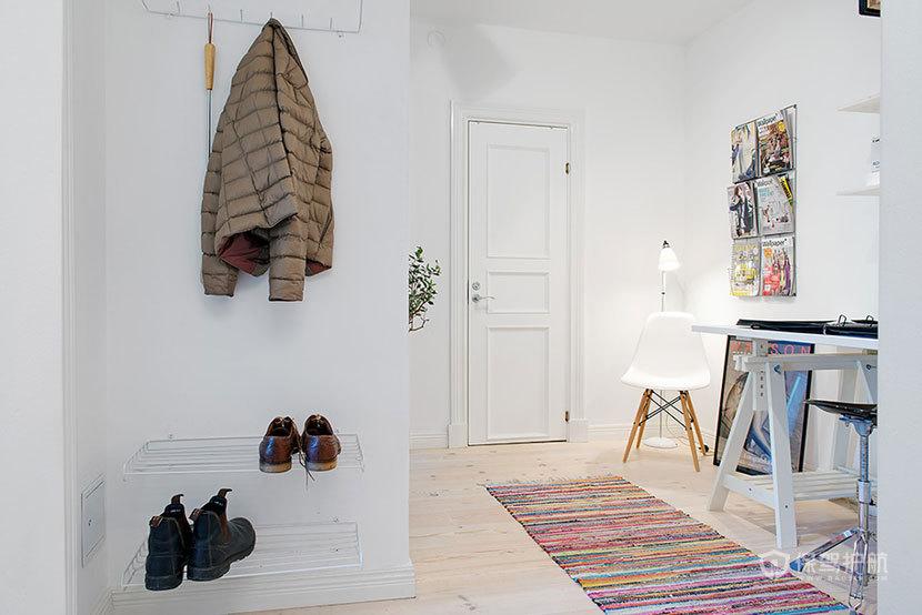 北欧风格两室一厅超小户型5平米客厅效果图