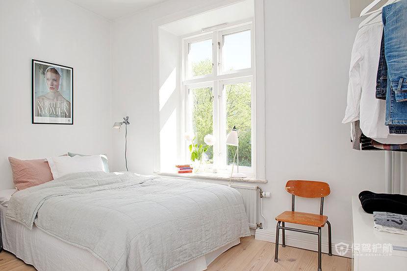 宜家风格一室一厅10平米卧室简约装修效果图