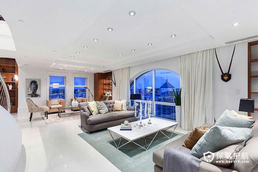 三室一厅复式房 360度俯瞰全景 ,三室一厅装修,复式装修,豪华,客厅