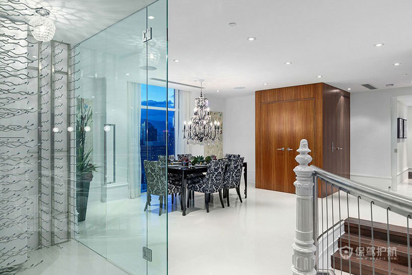 三室一厅复式房 360度俯瞰全景 ,三室一厅装修,复式装修,豪华,餐厅