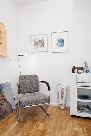 简约北欧风格两室两厅客厅小清新家具搭配效果图