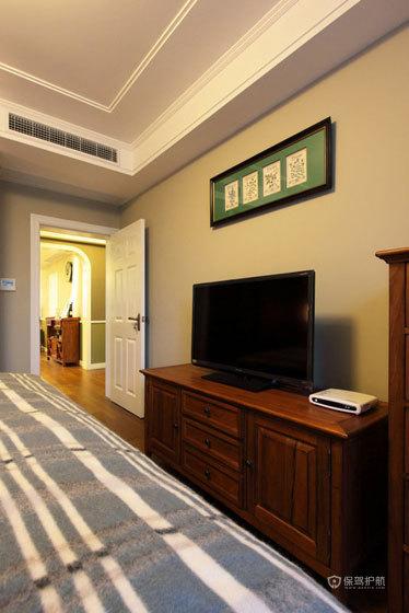 田园风格公寓50平卧室橱柜搭配效果图