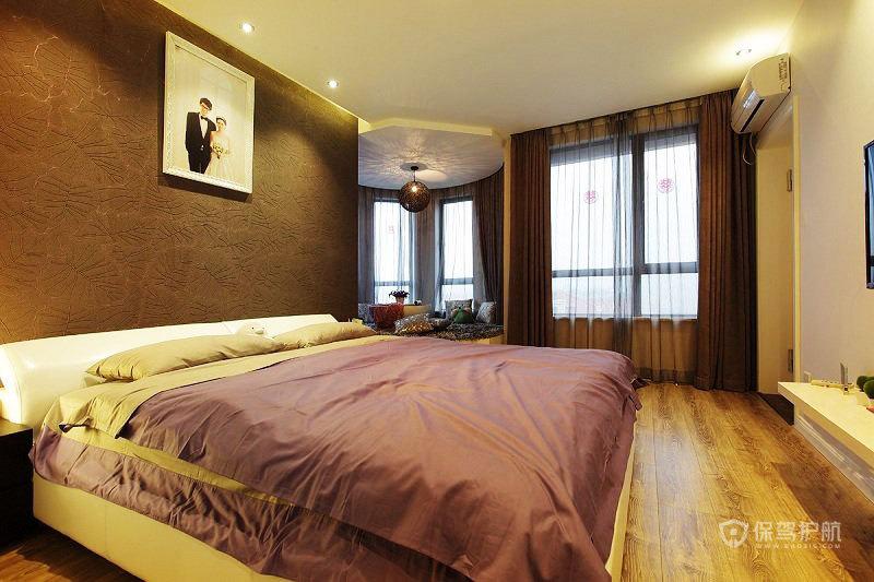 现代简约风格温馨卧室装修效果图
