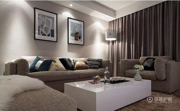 小户型宜家风格公寓客厅装修效果图