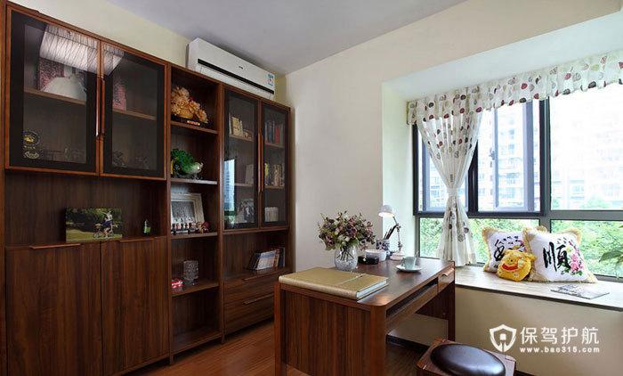 空间大利用 85㎡简约婚房 ,简约风格,现代简约风格,婚房装修,小户型装修,80平米装修,书房