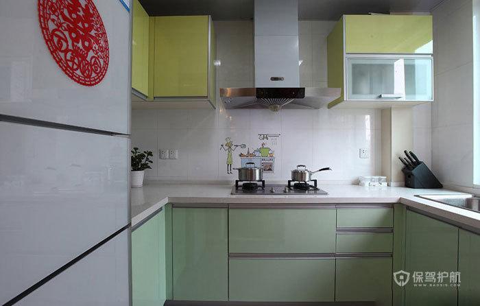 空间大利用 85㎡简约婚房 ,简约风格,现代简约风格,婚房装修,小户型装修,80平米装修,厨房