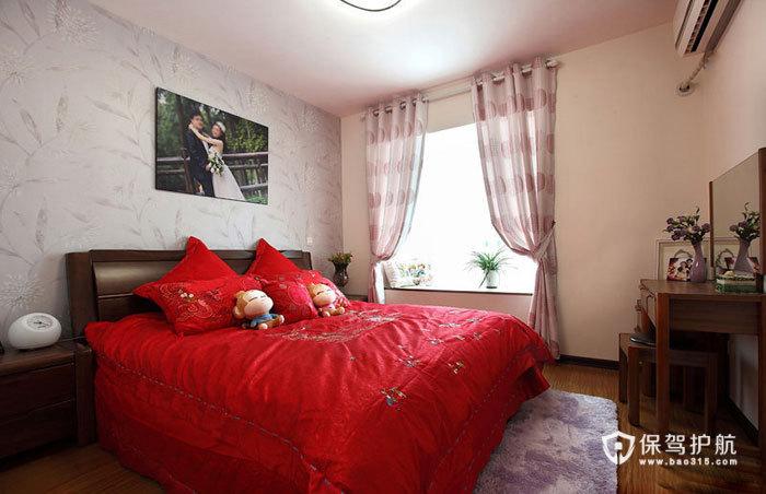 空间大利用 85㎡简约婚房 ,简约风格,现代简约风格,婚房装修,小户型装修,80平米装修,卧室